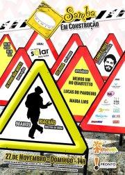 Samba em Construção | 27/11 (DOM), 14h