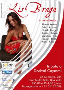 Tributo a Dorival Caymmi, às 20h no Cine Teatro Solar Boa Vista