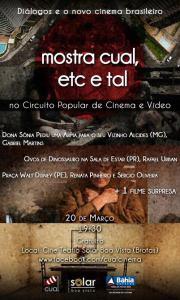 Circuito Popular de Cinema e Vídeo / Mostra CUAL, ETC E TAL