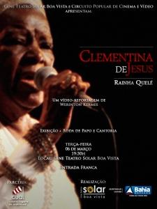 Exibição às 19h30 no Cine Teatro Solar Boa VustaGRATUITO
