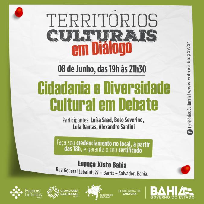 Cidadania e Diversidade - Territórios Culturais em Diálogo