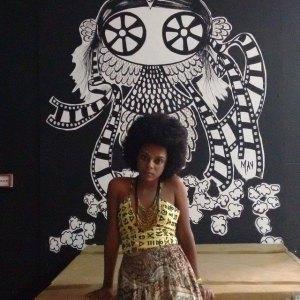 Samira Soares | representante do Coletivo Nacional de Juventude Enegrecer