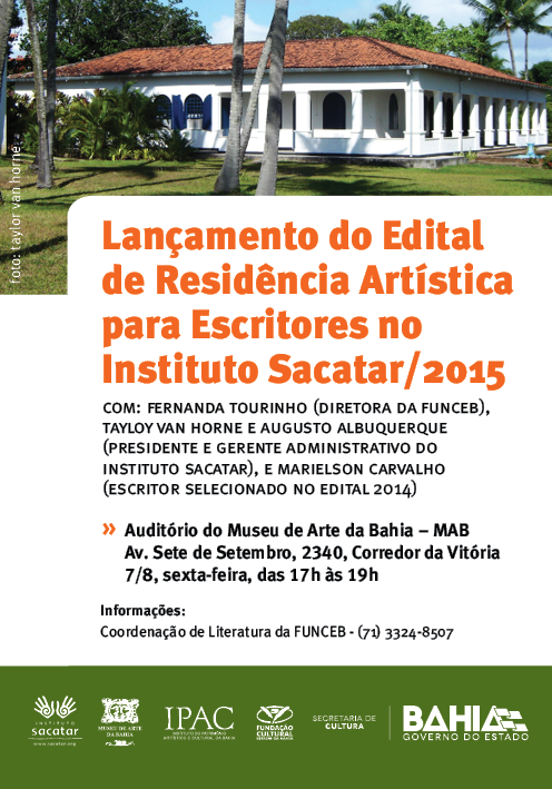 webflyer Instituto Sacatar