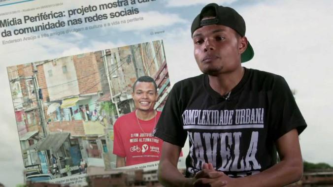 Enderson Araújo | Mídia Periférica | Foto: Divulgação