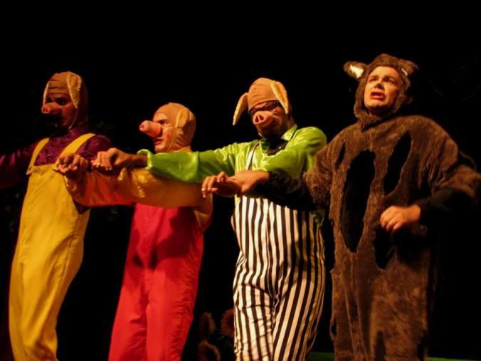 Espetáculo Deu a Louca nos Contos de Fadas | Foto: Divulgação
