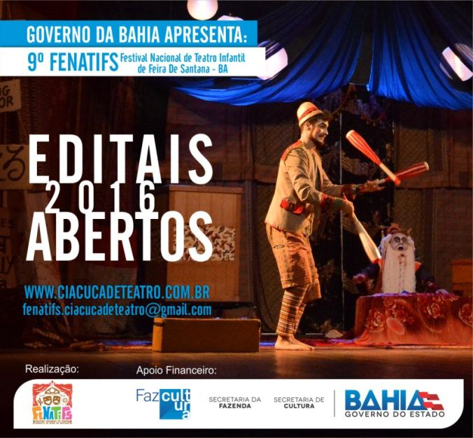 9º FENATIFS - EDITAIS ABERTOS