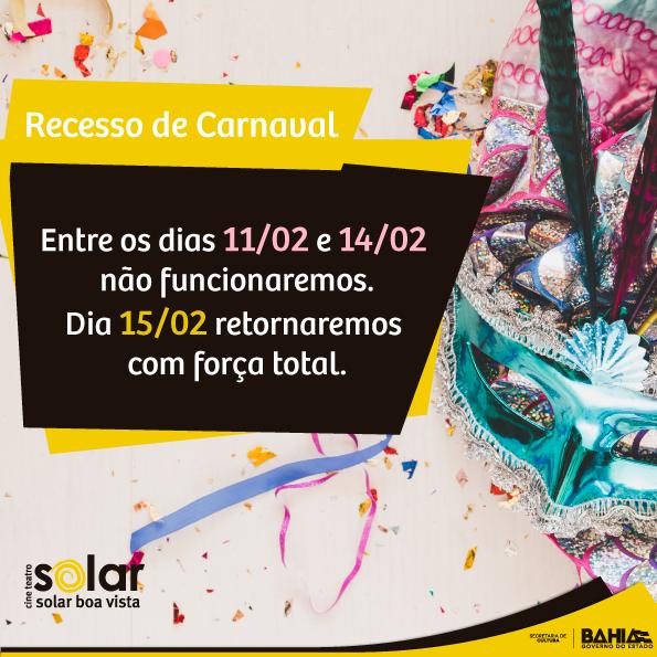 Recesso-de-Carnaval-CTSolarBoaVista